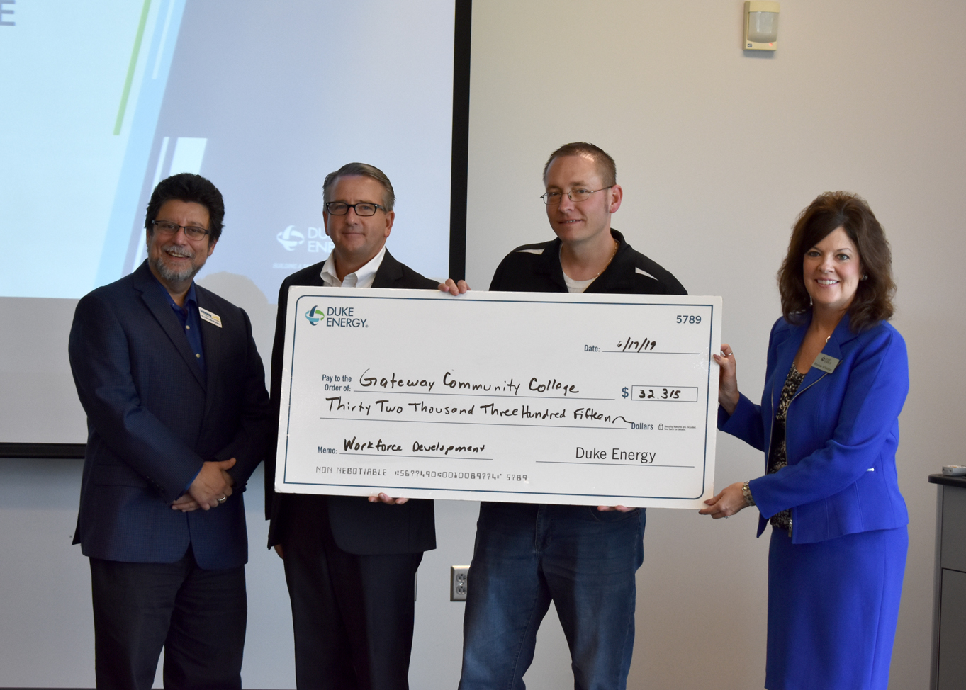 Duke Energy Check Presentation