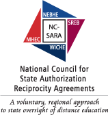 National council for state authorization reciprocity agreements badge