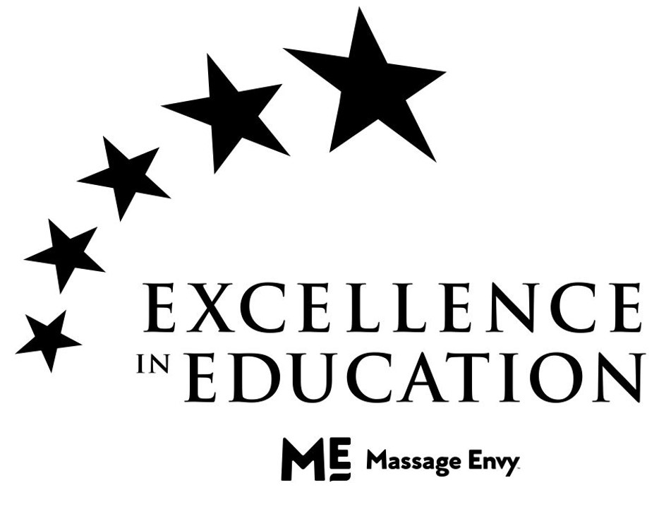 massage envy excellence in education award